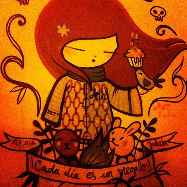 #valencia #vlc #lovevalencia #muros #barriodelcarmen #cadadiaesunregalo