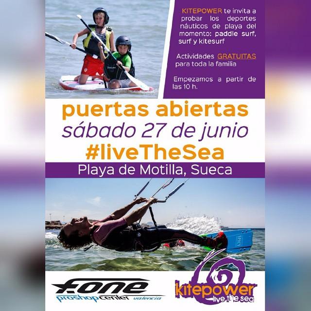 Plan para este sábado?  #kitepower #liveTheSea #surfvalencia #supvalencia #kitevalencia #lovevalencia #elperello #valencia #sueca #mareny #modoverano #playa #verano2015 #surfshopvalencia #gratis #feliz #escolakitepower #escuelaverano