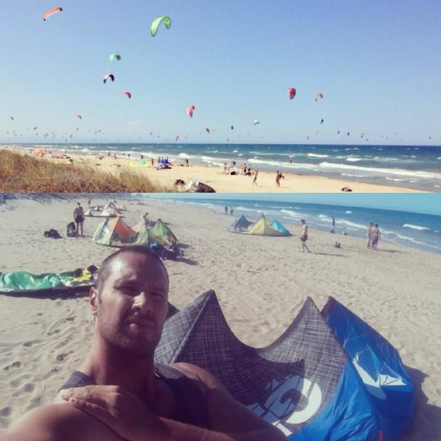Muy buena sesión de kite la de hoy. Qué se lo pregunten a Bruno y su GP de Best  #kitepower #liveTheSea #kite #kitevalencia #bestkiteboarding #kiteboarding #kitesurfing #kitesurf #kiteschool #lovevalencia #valencia #mareny #elperello