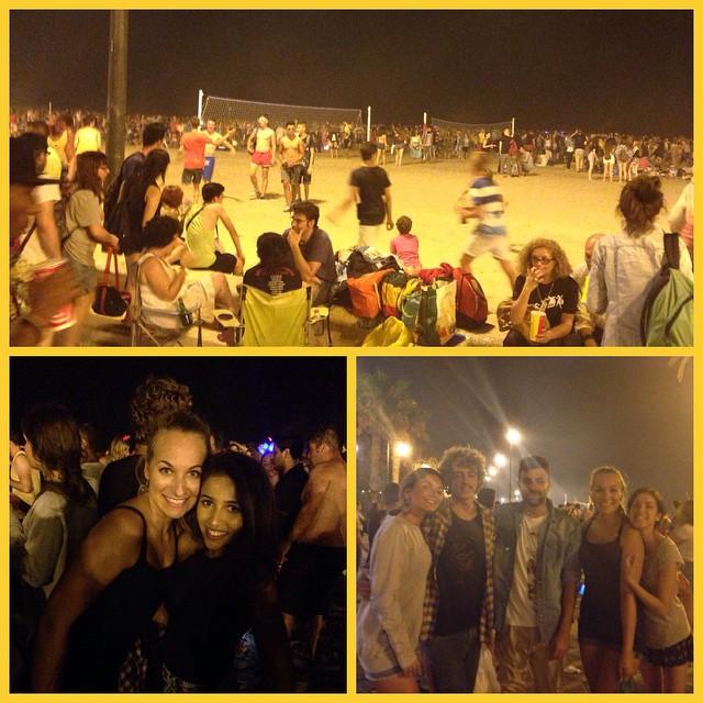 Gracias chicos por la noche chula ???? @kaaj93 I'm so happy that u r finaly here giiiirl?? #amigos #valencia #sanjuan #lovevalencia #nightout