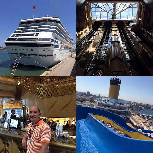 Gracias a @costacruceroses por la invitación a conocer uno de sus barcos el Costa Mágica, una tarde diferente recorriendo este #mágico #barco. La verdad muy placentera y divertida, excelente atención e instalaciones. #costacruceros #valencia #lovevalencia