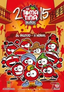 Cartel Tomatina 2015
