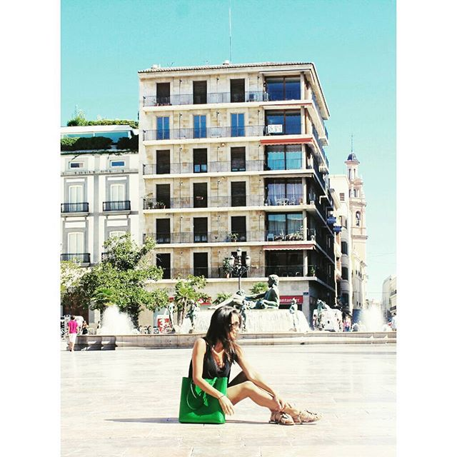 A hot day in ???????? ???? ______ #lovetravel #loveValencia #loveSpain ???