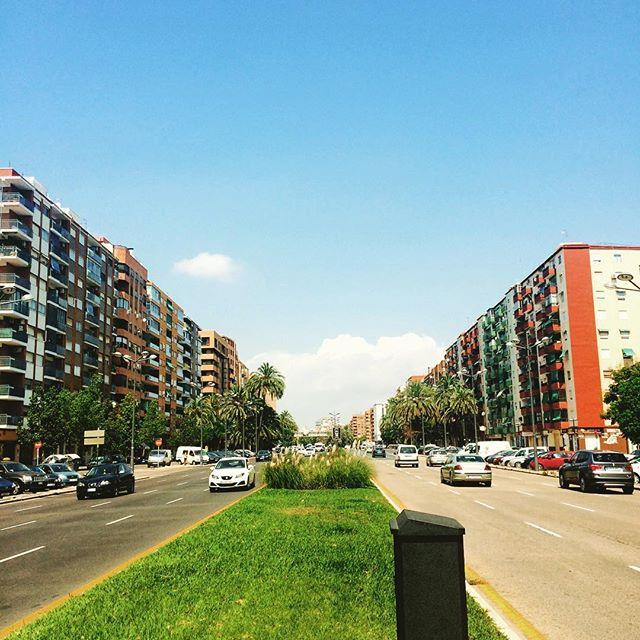 Avenida Ausias March!!! Hola Valencia!!! #SummerTime #LoveValencia #Valencia