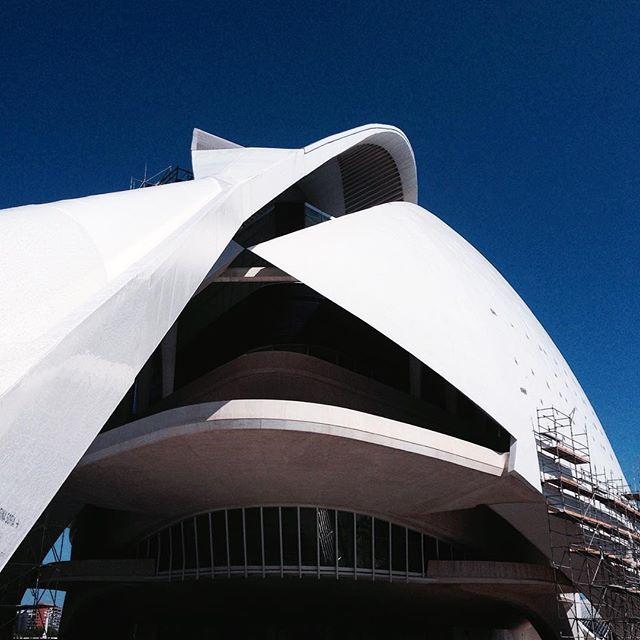 #Memories of a #Work!! #Series #Valencia's #City of #Arts and #Sciencies #Welcome to the #Future! #Cac #Museum #Bridge #CityPorn #PicOfTheDay #EditByMe #MyBeautifulWork #IphonePicture #LifeOfAPhotographer #Sea #Mediterranean #City / #CiudaddelasArtesylasCiencias #Valenciagram #Calatrava #IgersValencia #Valenciagrafias #LoveValencia