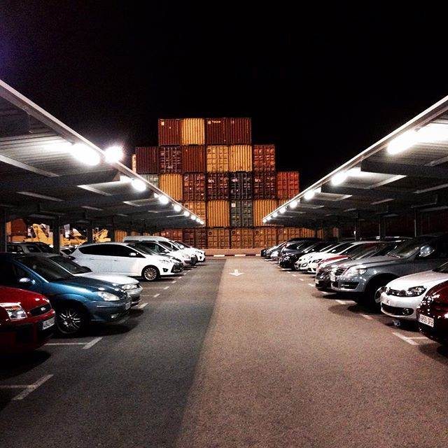 #Memories of a #Work!! #Series #Valencia's #Port!! #Docker #Transtainer #Container #PortOfValencia #Stevedore #Crane #containerporn #CranePorn #SeaPorn #PicOfTheDay #Sea #EditByMe #MyBeautifulWork #IphonePicture #LifeOfAPhotographer #Buque #Dockers #Noray #PuertoDeValencia #Sea #Mediterranean #LoveValencia #Valenciagram