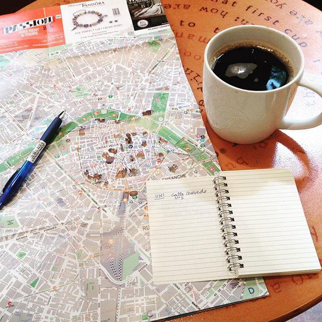 -operativi- ??? #valencia#erasmus#cercandocase#buscandopiso#erasmusvalencia#morning#coffe#superlargecoffee#maps#lovevalencia#carichi