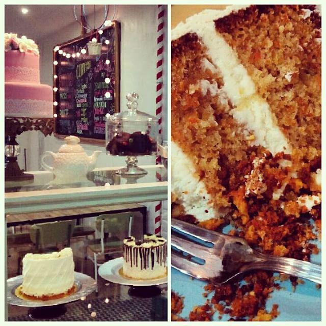 La parada dulce del weekend! #carrotcake #americancupcakes #ruzafaesdulce #lovevalencia