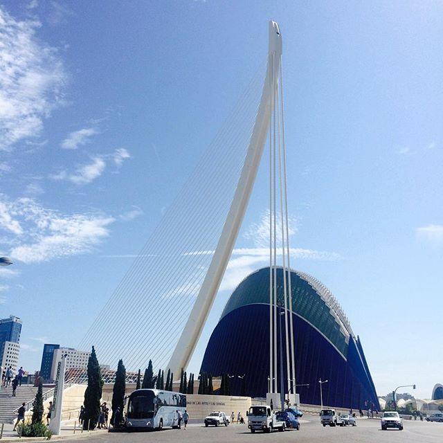 1. Ciutat de les arts i les ciencies!!! Una pequeña parte de esta gran ciudad.. #Valencia #LoveValencia #CiutatDeLesArtsILesCiencies #SummerTime