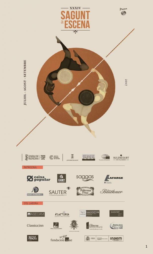Sagunt a Escena Festival Valencia Cartel 2017
