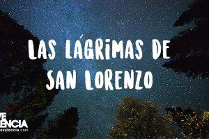 Lluvia de estrellas lágrimas de San Lorenzo en Valencia