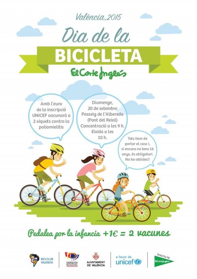 Día de la bicicleta valencia 2015