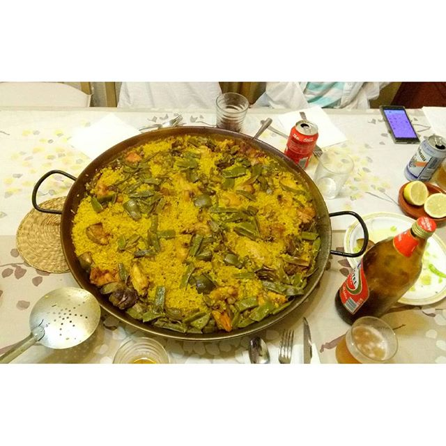 #valencia #lovevalencia #paella #españa paella ricaaaaa