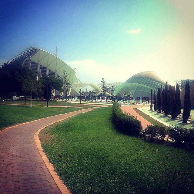 City of Arts and Sciences ?#lovevalencia #vlc #hemispheric #agora #umbracle #spain #lamasbonitavlc