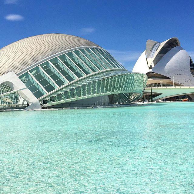 #cuidaddelasartes #cuidaddelasartesylasciencias #valencia #españa #spain #art #architecture #erasmus #erasmus2015 #travel #futurism #lovevalencia #migusta #calatrava #valenciagram ????