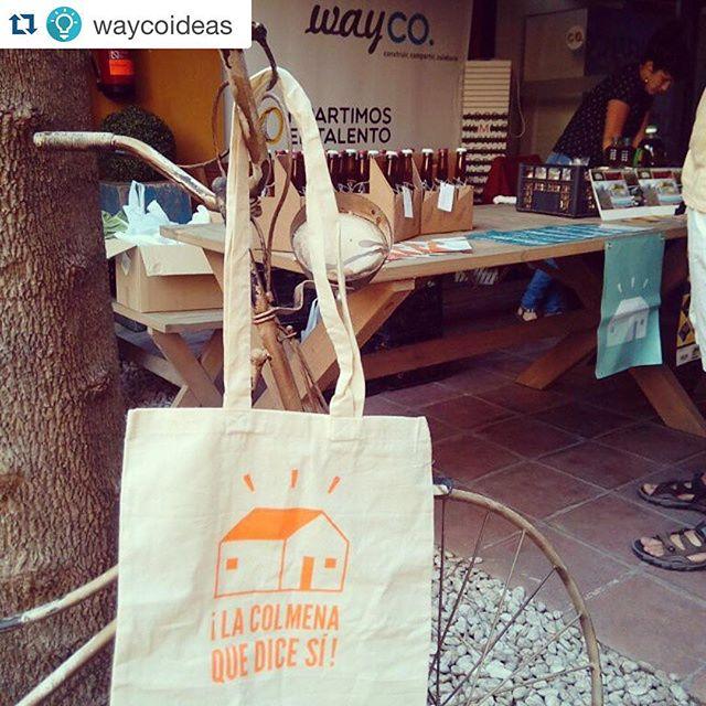 #Repost @waycoideas with @repostapp. ??? Nuestras distribuciones de la #WayColmena cada vez más animadas y con más productos. Si te gusta el #productolocal y de calidad, El 25 de septiembre vuelve #catacolmena, ya puedes apuntarte gratis en www.onetwotix.com.  @lacolmenaquedicesi #vidaencolmena #localfood #valencia #valenciagram #instavalencia #healthyfood #comidasanayrica #wayco #coworking #ideas #handmade #lovevalencia #food #planes #ocio #artfood