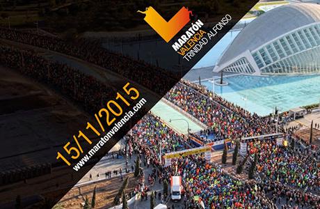 Maratón Valencia Trinidad Alfonso 2015