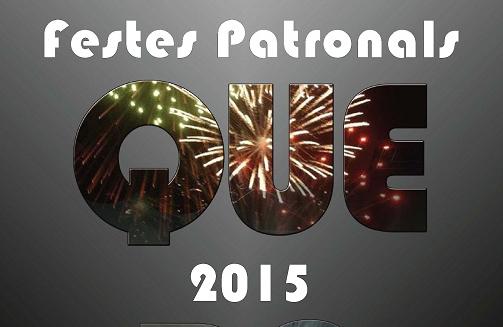 Fiestas patronales de Náquera 2015