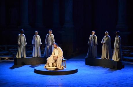 Sócrates, juicio y muerte de un ciudadano en el Teatro Olympia
