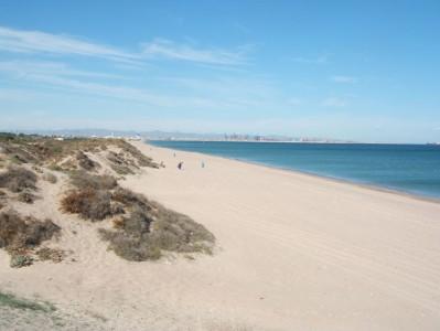 El R Beach In Valencia Spain
