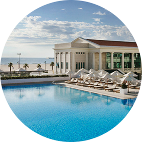 Hotel a Valencia Sul mare