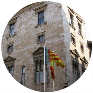 Palazzo Generalitat Valenciana, Monumenti a Valencia