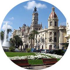 Plaza del Ayuntamiento di Valencia