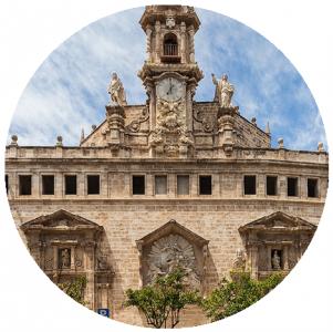 Chiesa di Santos Juanes, Monumenti a Valencia,