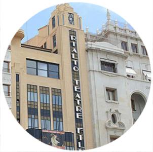 Teatro Rialto, Teatri a Valencia,