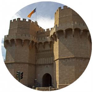 Torri di Serranos, Monumenti a Valencia