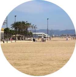 Spain Valencia Beach