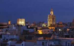 Night in Valencia