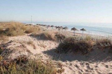 Garrofera Beach in Valencia Spain