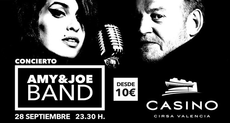 Amy&Joe Casino cirsa Valencia