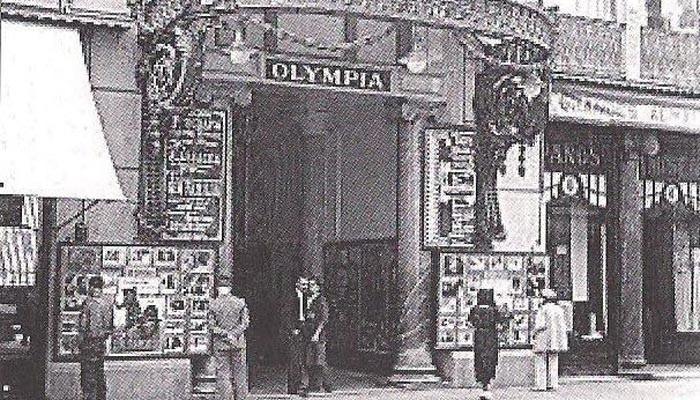 David Herrera conmemorando 100 años del teatro olympia
