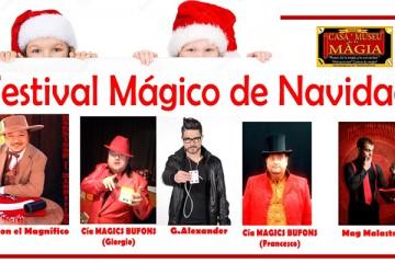 Festival mágico de navidad en casa museo de la magia