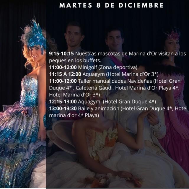 Horario Marina dOr 8 de diciembre 2015