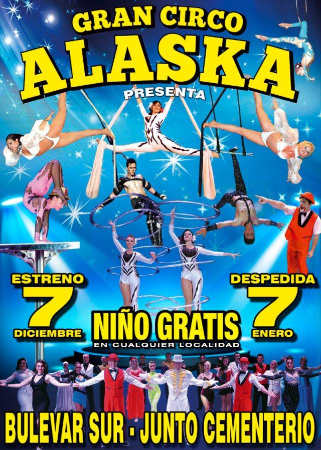 cartel circo alaska