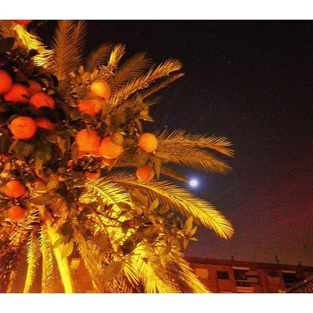 Descripción gráfica de estar a la luna de #valencia #thebestphoto #picoftheday #lovevalencia