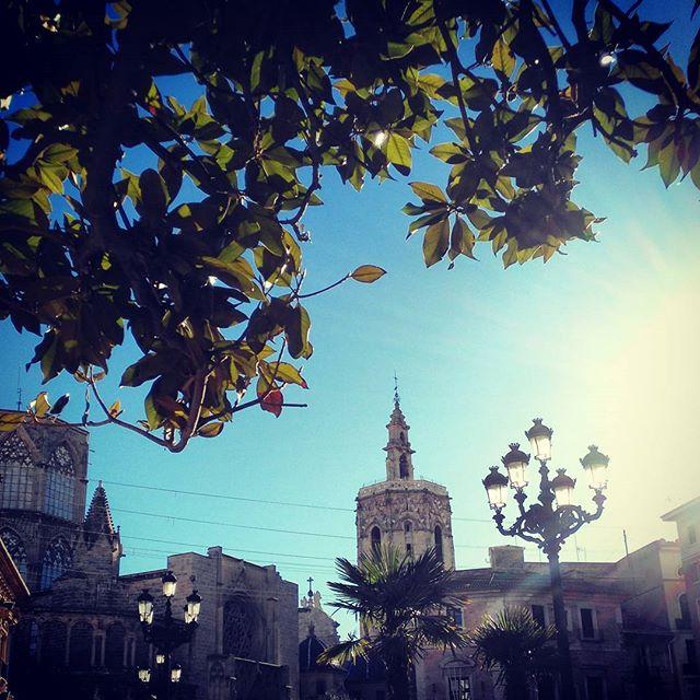 Plaza la virgen #sabado #plaçalaverge #valencia #loves_valencia #total_cvalenciana #igerscomunitat #igersvalencia #match_valencia #9vaga_urban9 #sky #valenciagram #lovevalencia