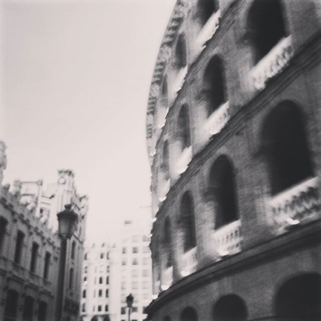 #valencia #spain #blancoynegro #plazadetoros #lovevalencia