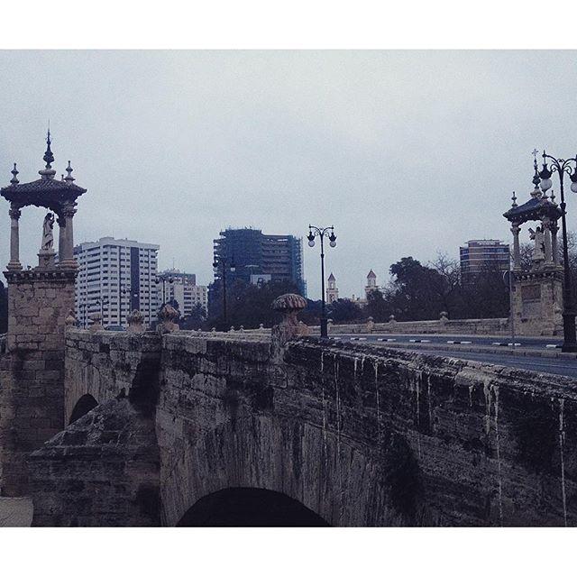???? #Valencia #igersvalencia #VLC #LoveValencia #instapic #winter #València #PaísValencià #igersvalencians #PontDelReal #PuenteDelReal #vscocam