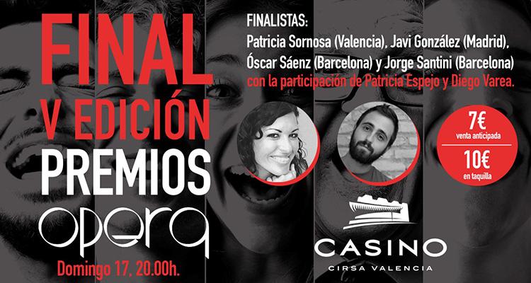 Concurso monologos opera casino cirsa valencia