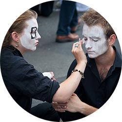 maquillaje para fiestas de disfraces