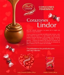 chocolates lind
