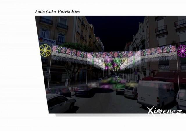 Luces Cuba Puerto Rico 2016 iluminaciones Ximenez
