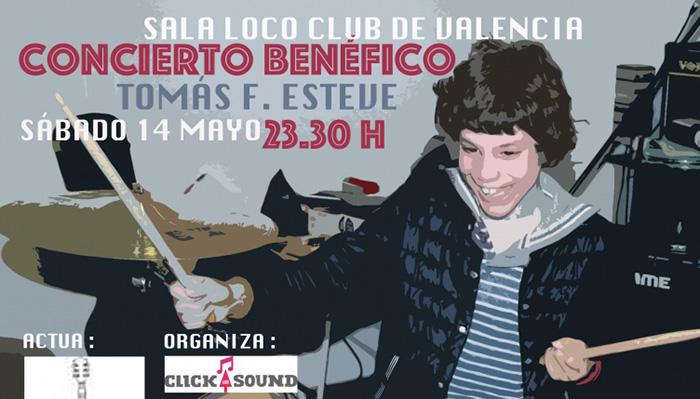 Loco Club acoge un concierto solidario