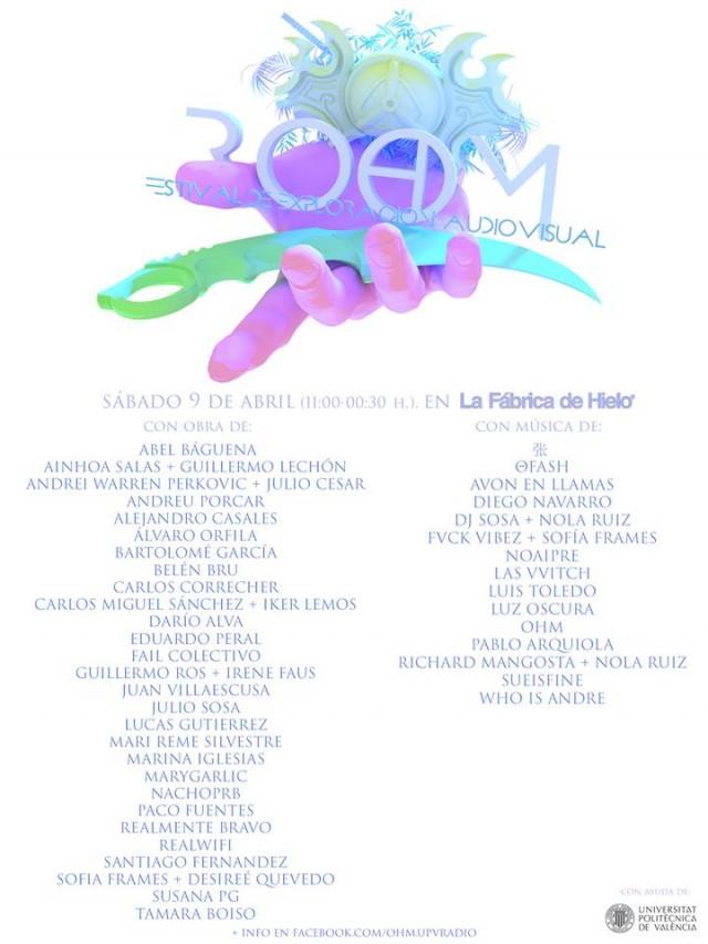 ROOM Festival Cartel 2016