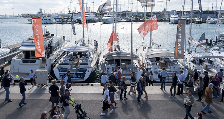 Valencia Boat Show Feria en la marina de Valencia
