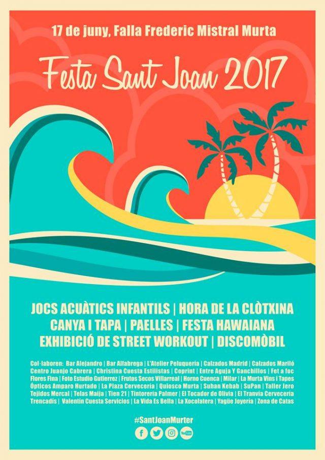 Fiestas y verbenas de San Juan en Valencia